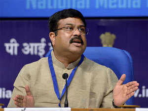 """""""The new model, we hope, can even help double crude oil production from nomination fields,"""" Oil Minister Dharmendra Pradhan told ET."""
