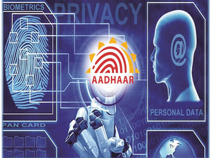 """Responding to an RTI queryseeking to know the number of cyber attacks directed at the core biometric data of Aadhar users, the agency said there have been """"nil"""" reported cases."""