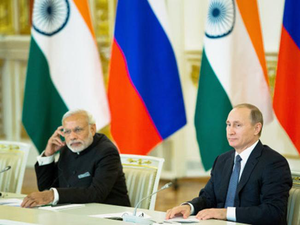 "India and Russia urged all countries and entities to work sincerely to disrupt terrorist networks and their financing, and ""stop cross-border movement of terrorists""."