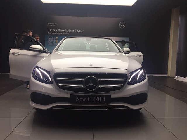 Mercedes Benz E-Class: Mercedes Benz rolls out new E-Class with 2