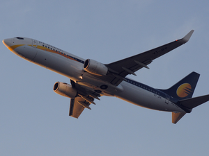 Jet Airways operates flights to 65 domestic and international destinations with a fleet of 113 aircraft, comprising Boeing 777-300 ERs, Airbus A330-200/300, Next Generation Boeing 737s and ATR 72-500/600s.