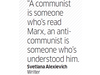 Quote by Svetlana Alexievich