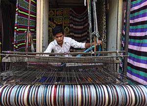 Silk and jute yarns have been exempt but cotton and natural fibres and all other yarns will be levied a 5 per cent GST.