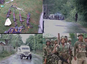 4 terrorists killed after they attacked CRPF camp in J&K