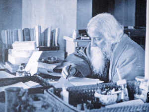 The swastika, used as a symbol by Tagore for Visva-Bharati, will also be used thematically.