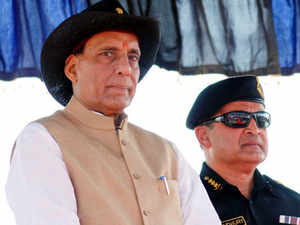 Rajnath Singh enquired about the preparedness of the NSG commandos, popularly known as 'Black Cat', to deal with exigencies or terror situation.