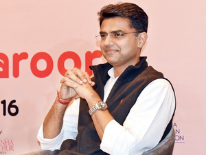 """Sachin Pilot said, """"The BJP government has continuously downsized the defence budget and several posts, including those of officers, JCOs and jawans, are lying vacant."""""""