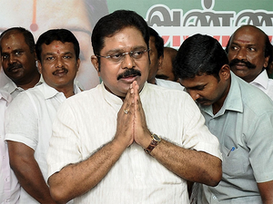 Dhinakaran was arrested here on the night of April 25 after four days of questioning for allegedly attempting to bribe Election Commission (EC) officials for the symbol.