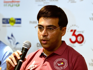 Anand, who at 47 continues to be the No. 1 Indian and stays as one of the most dangerous players in the world, is ranked No. 7 in the field at 2786.