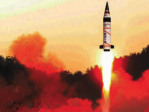 DRDO requires a land-based test area as well to accurately track its longrange missiles.