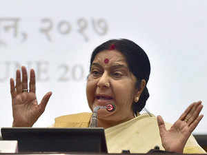 Sushma Swaraj's steering clear of the Islamic world's latest implosion highlights the challenges and diplomatic balancing that India will have to conduct.