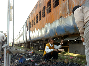 Sixty-eight people were charred to death in the blasts in two coaches of the Samjhauta Express in Panipat on February 18, 2007.