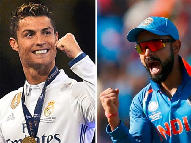 Virat Kohli Virat Kohli Only Indian In Forbes List Of 100