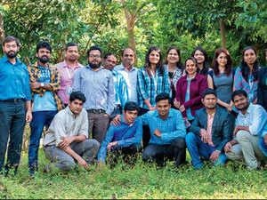 Founder Subrat Parida with Team Racetrack