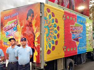 Mobile theatre vans offer high-quality viewing experience to villagers and a platform for government schemes.