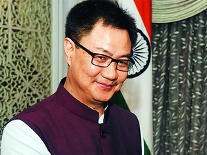 """""""I am not even mandated to speak anything which is beyond the Indian Constitution,"""" Kiren Rijiju said."""