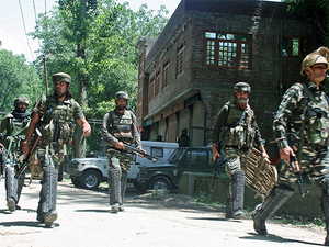 Acting on specific information, a joint cordon of police and 21-RR of Army was laid at Chogal, Handwara during which two persons identified as Mehrajudin and Obaid Shafi Malla were caught while moving in suspicious circumstances.