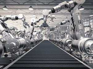 Robotisation is not a threat yet to human employment. The ratio of men versus machines is skewed towards humans.