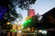 The 30-share pack opened the day at 31,091 against the previous close of 31,095, and hit a high and low of 31,260 and 31,062 before ending the day 0.03 per cent higher.