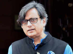 """""""We have seen certain connections to the farmers stir with the demonetisation"""", Tharoor said when asked about the farmers agitation in Madhya Pradesh and Maharashtra."""