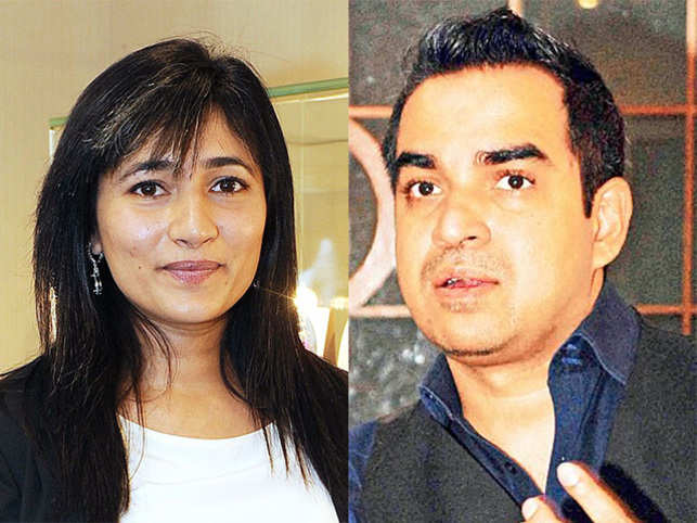 Schauna Chauhan (left) and Bibhu Mohapatra (right).