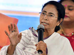 Targeting the Modi-led government, she also said the current farmers' distress was due to demonetisation.