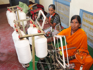 Non-integrated textiles players form 80% of India's textiles industry.