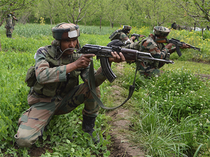 Security forces cordoned off the area and a search operation was on, the official said.