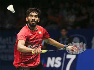  World No.22 Srikanth won 21-11 21-19 in a 37-minute clash against the Japanese qualifier in the $1,000,000 event.