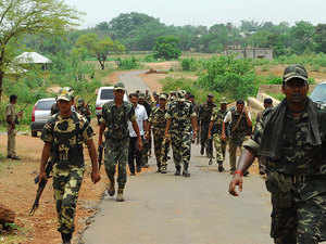 Based on specific inputs, security personnel had launched the operation in the interiors of Aundhi, around 125 km from here.