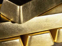 US gold futures for August delivery fell 0.2 per cent to $1,254.20 an ounce
