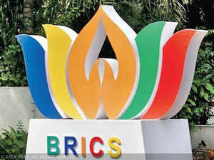 The press conference was attended by foreign ministers of all BRICS countries (Brazil, Russia, India, China and South Africa).