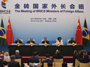 Several rounds of dialogues were held with the other developing countries outside the BRICS during the previous summits of the bloc, Chinese Foreign Ministry spokesman Geng Shuang told reporters when asked about Beijing's proposal for BRICS Plus at the Foreign Ministers meeting.