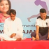 Devendra Fadnavis and Suresh Prabhu perform Yoga