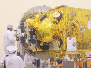 Scientists working on the Mars Orbiter at Isro Satellite Centre (ISAC) in Bangalore in 2013.