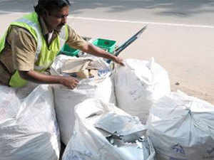 Non-municipal waste business includes hazardous waste, biomedical and e-waste, recycling waste water, paper and plastic waste.