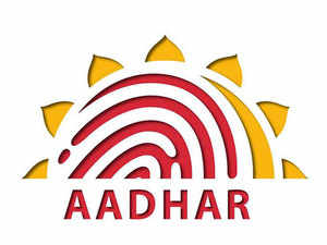 On the UIDAI website homepage, under the Aadhaar services tab, there's an option saying