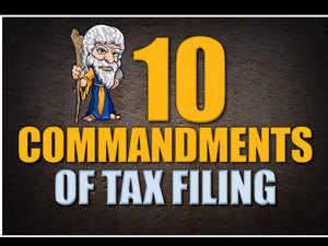 Filing tax returns is very easy, yet many taxpayers make mistakes. Follow these cardinal rules so that your return is flawless.