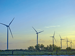 Rajasthan's installed wind power capacity is 4,280 MW.
