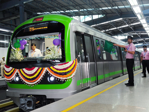 The state government finalised the metro route to the airport in mid-May this year.