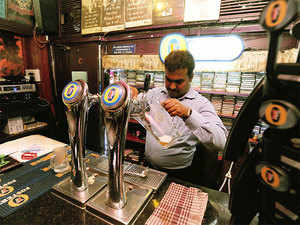 Pecos Pubs, at Brigade Road, in Bengaluru.  Collin Timms, co-owner of Pecos, a pub, said the order is going to hurt not only his branch on Brigade Road but a big number of outlets in the City.