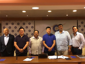Incidentally, Oppo, which trumped Vivo in securing Indian cricket team's jersey rights earlier this year, was the second highest bidder at Rs 1,430 crore.
