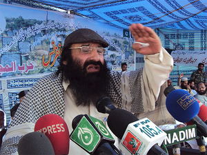 Syed Salahuddin hails from one of the least developed areas, Budgam's Soibug village, and has a family of five sons, two daughters and a wife still living there.
