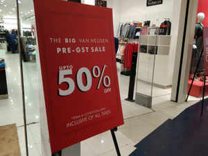 GST Rates GST Brings Sale Season Forward As Firms Offer Luxury - Invoice app for android free gucci outlet store online