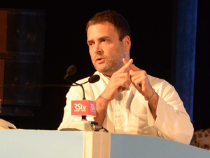 """""""Congress Party demands a full roll back of this 'disability tax' that will put millions of our disabled people through further hardship,"""" Rahul Gandhi said on Twitter."""
