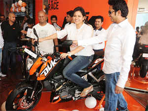 Bajaj Auto and KTM have completed a decade of strategic partnership under which the Austrian bike maker's models DUKE 125-390 and RC 125-390 are produced in Bajaj's production facility.