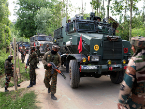 Third militant killed as Pulwama encounter enters second day