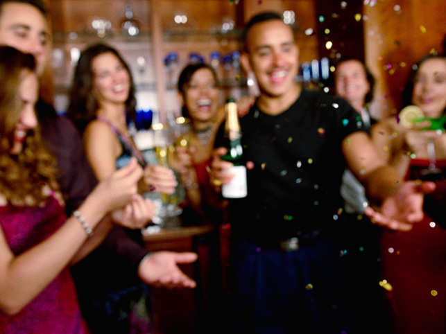 the regular weekend partying could be affecting your health in more