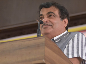 """""""Back-of-the-envelope calculations say logistics costs would come down by at least 20%,"""" said Nitin Gadkari."""