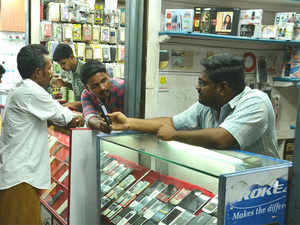 Consumer electronics and mobile phone stores have been almost empty since Saturday as most consumers completed their purchases last month, fearing an increase in prices.
